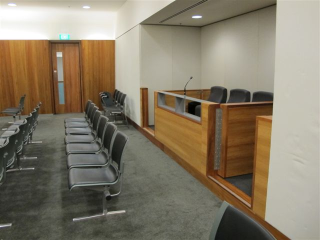 Increase in custody and public seating Court 1.9