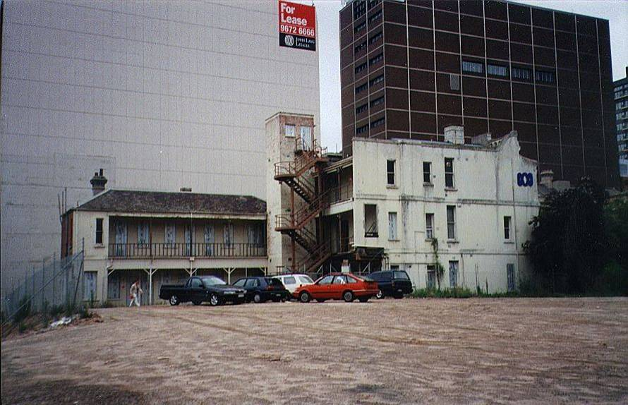 Construction site - County Court Facility 2000